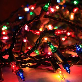 They Save Christmas Lights from Landfills