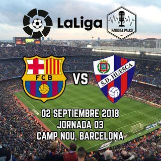 FC Barcelona vs SD Huesca en VIVO