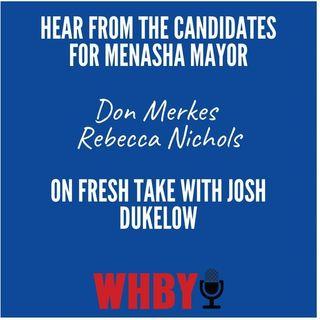 Conversation with Candidates for Mayor of Menasha