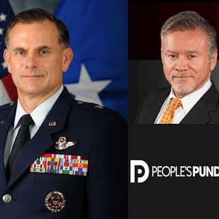 Brig. General Robert Spalding, Mark Young & PPD Editor Richard Baris