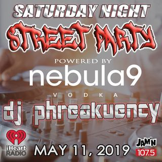 JAM'N 107.5 SATURDAY NIGHT STREET PARTY 5/11/19