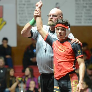 Chico senior wrestler Rieker Pineda displays toughness on and off the mat