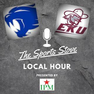 Local Hour Ep2 EKU vs UL, UK vs Mizzou, EKU RB DaJoun Hewitt and Cats Coverage Matt Sak