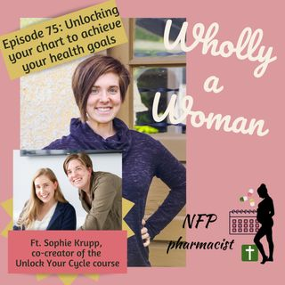 Episode 75: Unlocking your cycle chart to achieve your health goals - featuring Sophie Krupp, co-creator of Unlock Your Cycle online course