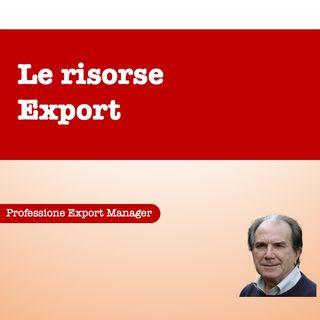 Le risorse export