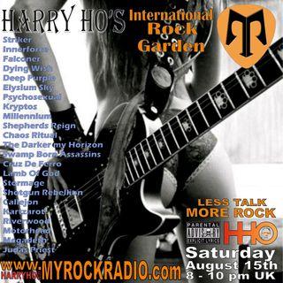 Harry Ho's intern. Rock Garden 15.08.2020