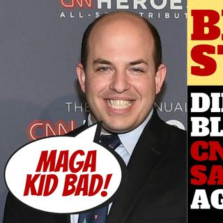 DID BRIAN STELTER GET CNN INTO HOT WATER OVER TWEET?