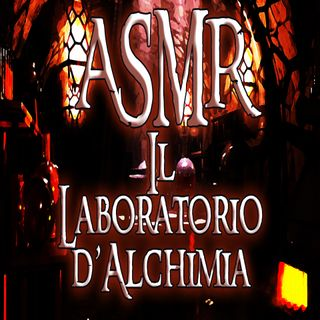 ASMR - Alchemy Laboratory (Bubbling - water - crackling fire - ambient)