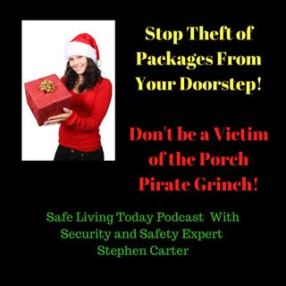 Stop Theft of Packages From Your Doorstep! Don't be a Victim of the Porch Pirate Grinch