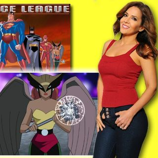 #334: Maria Canals-Barrera, Hawkgirl from the DC animated universe!