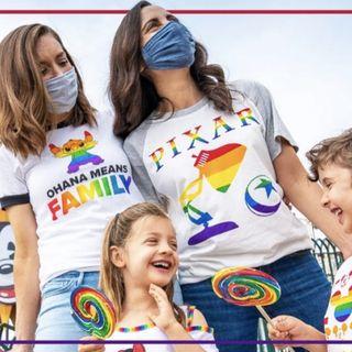 Disney, kids, marketing sales, and pride month