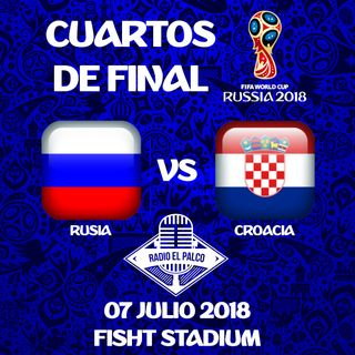 Rusia vs Croacia en VIVO