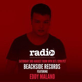 Beachside Records Radioshow Episode # 020 By Eddy Malano