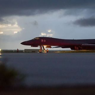 US Bombers Fly North of Korean DMZ