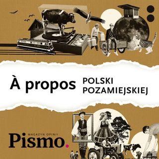 À propos Polski pozamiejskiej