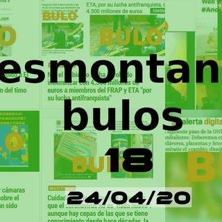 Desmontando bulos | DB 18 (23/04/20)