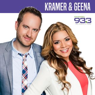 Kramer and Geena Podcast episode 4: Meet the REAL us!