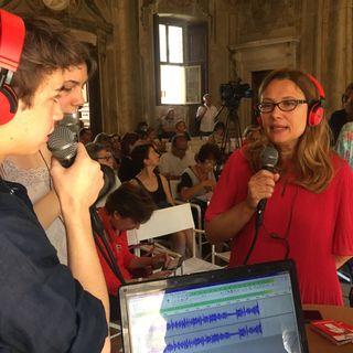 #dialoghiaspoleto Nicoletta Mantovani Pavarotti & Anna Grassellino