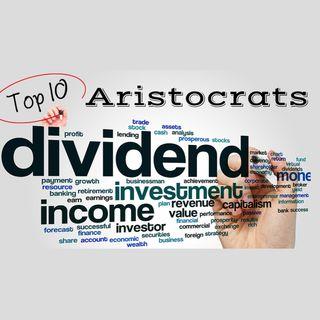 10 maiores pagadoras de dividendos da lista das dividend aristocrats