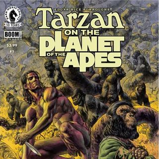 Source Material #125 - Tarzan on the Planet of the Apes (Boom! Studios) (2016)