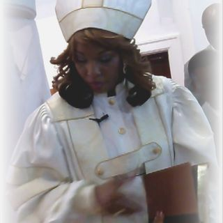 "Apostle Dr. Victrena Washington preaches, ""God's Time is Always the Perfect Time!"