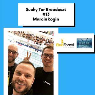 Menedżer sportowców Marcin Łogin w Suchy Tor Broadcast #13