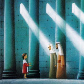 Gesù diventa grande. Con lui cresce l'amore per Dio
