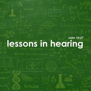 Lessons in Hearing