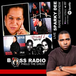 BOSS RADIO LIVE (PHELO FINAL) - RARE INTERVIEW - RAPPER, SPARKY DEE