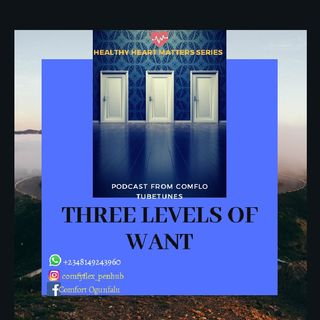 "(3) Three Levels Of ""WANT"" that Shows The Level Of Commitment Of Your Spouse"