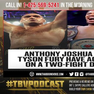 ☎️Tyson Fury and Anthony Joshua Two Fight Deal in 2021🧐 BIGGEST LIE IN BOXING❗️🤔