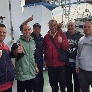 Pescatori italiani liberi: trattenuti in Libia per 108 giorni