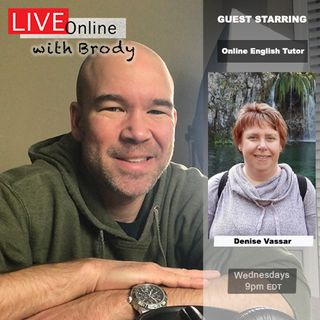 Online English Tutoring Expectations - LIVE Online With Brody (clip)