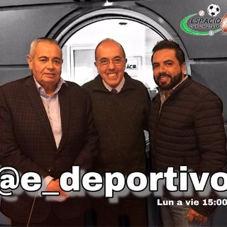 Los días son más ligeros con el Rudo, Pepe y Alex en Espacio Deportivo de la Tarde 28 de Noviembre 2018