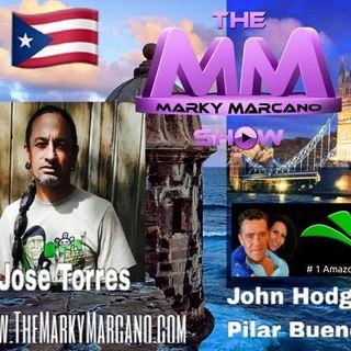 Tonight !! Jose Torres(ElYerberito)-JohnHodges-PilarBueno-ViddaPublishing