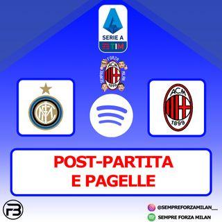MILANO E' ROSSONERA!! | INTER-MILAN 1-2 PAGELLE e POST-PARTITA