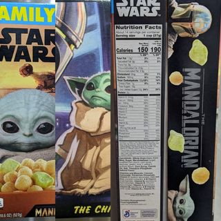 Star Wars- The Mandalorian Cereal