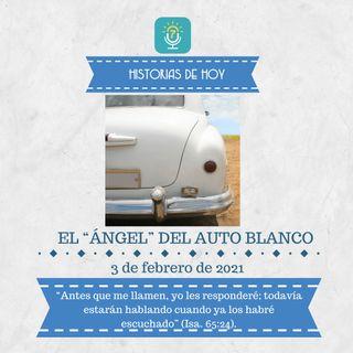 """3 de febrero - El """"ángel"""" del auto blanco - Etiquetas Para Reflexionar - Devocional de Jóvenes"""