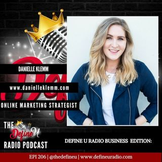 DUR 207- Navigating The Online Space with Danielle Klemm