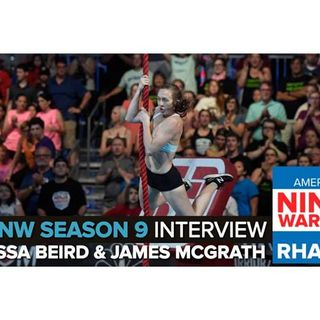 American Ninja Warrior 2017 | Allyssa Beird & James McGrath Interview