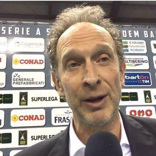 "Perugia: Bernardi, ""L'importante era vincere da 3 per restare avanti a Trento"""