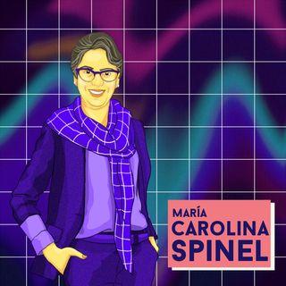 Ma. Carolina Spinel, física, inspira a Silvia Caro