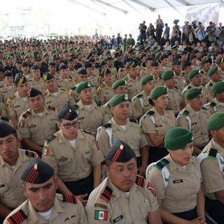 Compara AMLO la Guardia Nacional con los cascos azules de la ONU