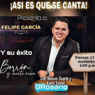 Borrón y cuenta nueva de Felipe García