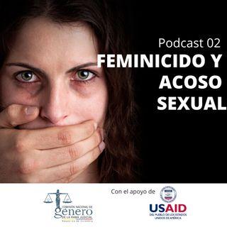 02. Feminicidio y acoso sexual en el continuum de la violencia contra las mujeres