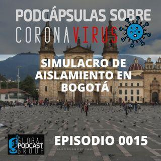 015 Todo sobre el simulacro de aislamiento en Bogotá