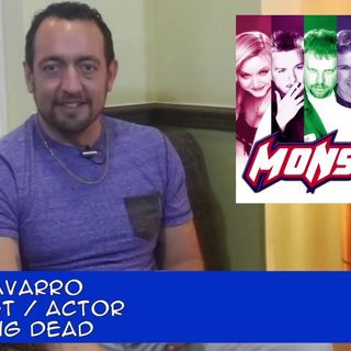Midday Monster of The Walking Dead Carlos Navarro: an interview on the Hangin With Web Show