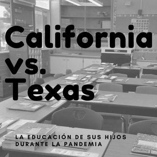 California vs. Texas, la educación de sus niños durante la pandemia
