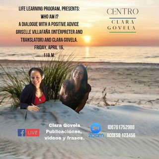 Life Learning Program Who Am I? With Griselle Villafaña