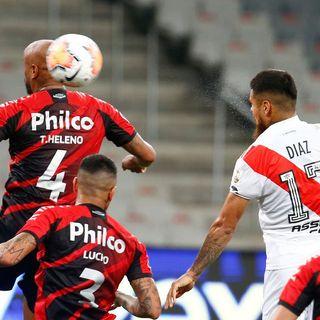 Gol de River: Paulo Díaz